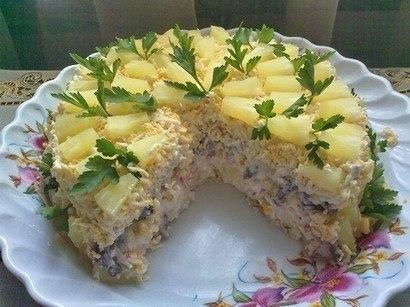Салат «Чудо-слойка»