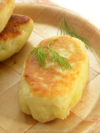 Пирог с картошкой и луком без дрожжей рецепт с